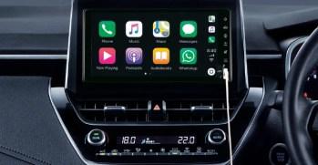 2020 Toyota Corolla Display Audio