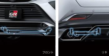 2020 Toyota Harrier GR parts 12