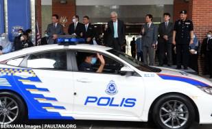Honda Civic PDRM polis car Bernama 3