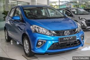 2020 Perodua Myvi 1.3X ASA 2.0 Electric Blue_Ext-1