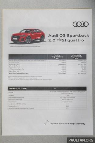 2020 Audi Q3 Sportback 2.0 TFSI Quattro Malaysia_Spec-1