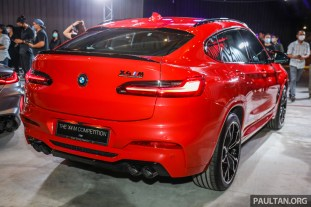 2020 F98 BMW X4 M Competition Malaysia Launch_Ext-2