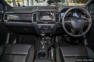 2020 Ford Ranger 2.0 Bi-turbo Wildtrak 4WD 10AT Malaysia_Int-1