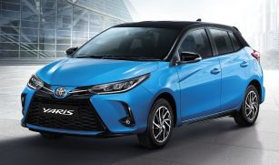 2020 Toyota Yaris facelift Thailand 1