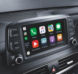 Kona Interior - 7-inch intainment floating screen with Apple CarPlayAndroid Auto Capability_BM