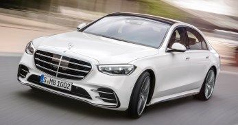 2021 W223 Mercedes-Benz S-Class (White)