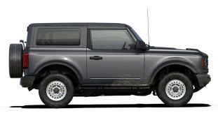 2021 Bronco Two-Door in Carbonized Gray
