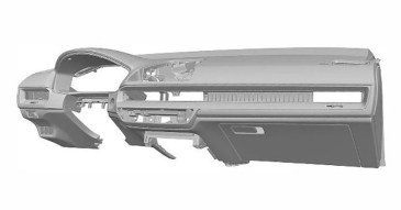 Honda Civic 11th-generation interior patents-7-1