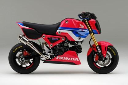 Honda MSX125 Grom HRC Japan BM