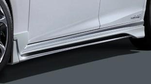 2020 Lexus LS F Sport Modellista_side skirt