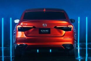 2022 Honda Civic Prototype official reveal-11th-gen-6