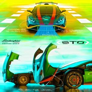 Lamborghini Huracan STO 22