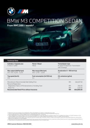 G80 BMW M3 Competition Malaysia spec sheet-1