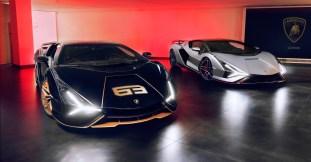 2021 Lamborghini Sian in the UK