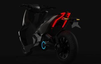 2021 Scorpio Electric Singapore X Model Prototype electric scooter - 2