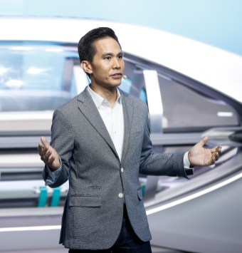Anthony Lo, vice president, Design
