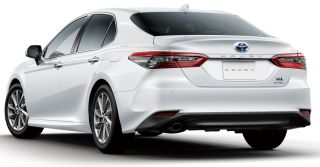 2021 Toyota Camry facelift Japan 5