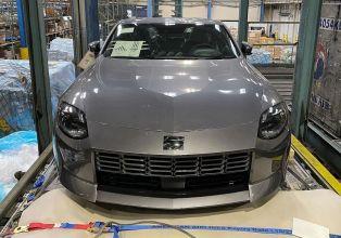 Nissan 400Z Grey Spied 3