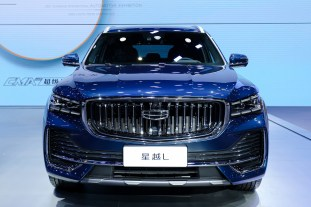 2021 Geely Xingyue L at Auto Shanghai 2021
