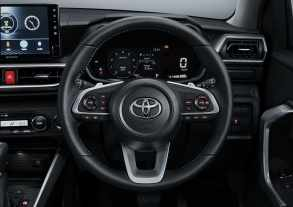 Toyota Raize Indonesia leather steering