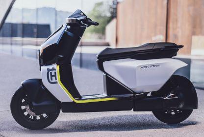 2021 Husqvarna Vektorr Concept electric scooter - 6