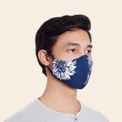 Volvo batik face mask 2