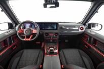 W463 Brabus 900 Rocket Edition_Black and Red Interior