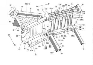 Mazda sports car front body structure patent filing-17