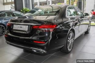 2021 W213 Mercedes-Benz E 200 Avantgarde Malaysia_Ext-2