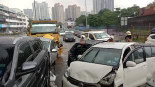 Jalan Ipoh Lorry Myvi Accident 2