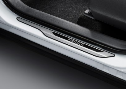 Toyota Corolla Cross Modellista_front door scuff plate