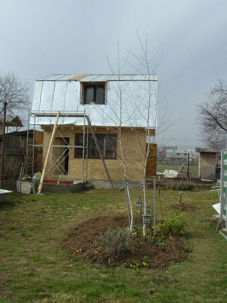 """Construirea unei anexe de lemn (sau cât de departe pot ajunge aberaţiile """"legale"""" în România, în domeniul construcţiilor) (1/3)"""