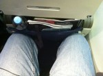 limited leg room in United Airlines economy