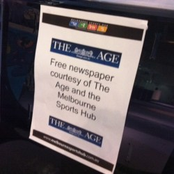 Fairfax give The Age away to boost circulation figures
