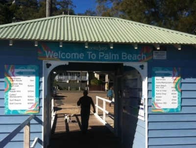 arrival-at-palm-beach-ferry-wharf