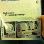 Stretching out in coach: Air New Zealand Premium economy