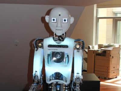 Ged, the Telstra robot