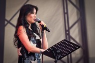 Lucy Liu w/ The Bullitts at The Big Chill Festival
