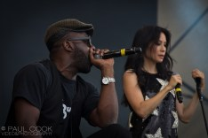 Lucy Liu & Idris Elba @ The Big Chill, 2011