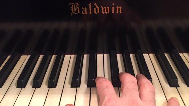 paul on the keys