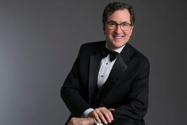 Paul W Thompson portrait in tuxedo
