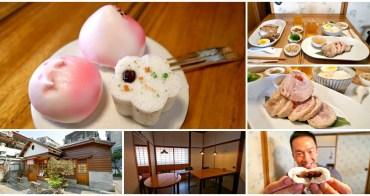 台北萬華龍山寺站美食 合興八十八亭~日式老屋享用中式甜點與精緻簡餐