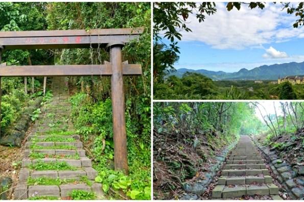 花蓮瑞穗秘境景點 虎頭山步道~日式鳥居神社遺址,清幽環境爬山去