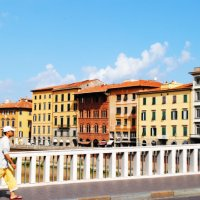 A Photo Essay Capturing Our Walks Through Pisa, Italy