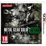 Konami pone fecha al 'Metal Gear Solid: Snake Eater 3D'