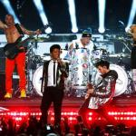 Disfruta de la actuación de Bruno Mars con Red Hot Chili Peppers en la Super Bowl