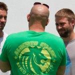 Conoce a los hermanos de Paul Walker en el set de rodaje de 'Fast & Furious 7'
