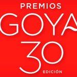 Nominados a la 30 edición de los premios Goya