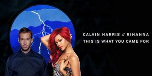 Calvin Harris y Rihanna