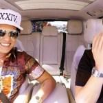 Bruno Mars se apunta al Carpool Karoke